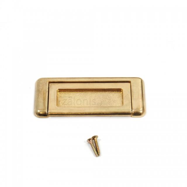 ZAMAK CHEST HANDLE  / GOLD
